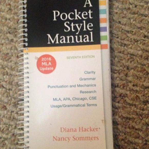 Other Mla Format Pocket Style Manual Poshmark